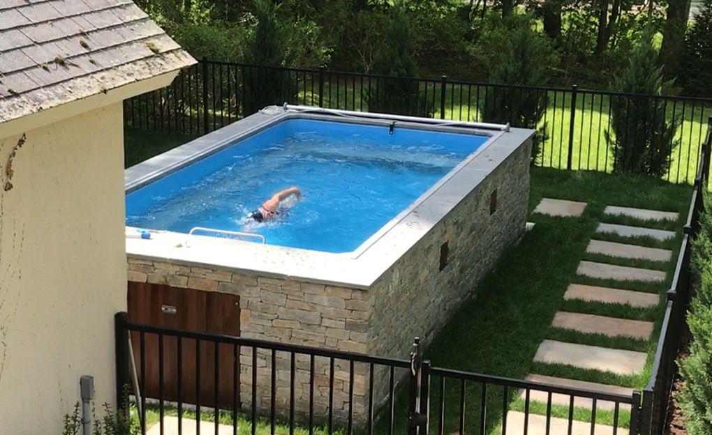 ¿Cuáles son los beneficios de una piscina pequeña?