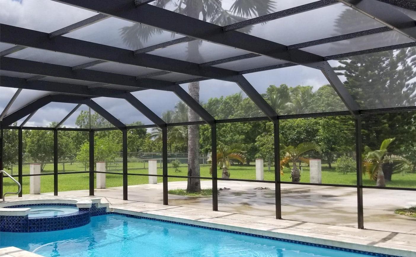 ¿Qué son los cerramientos de piscina?