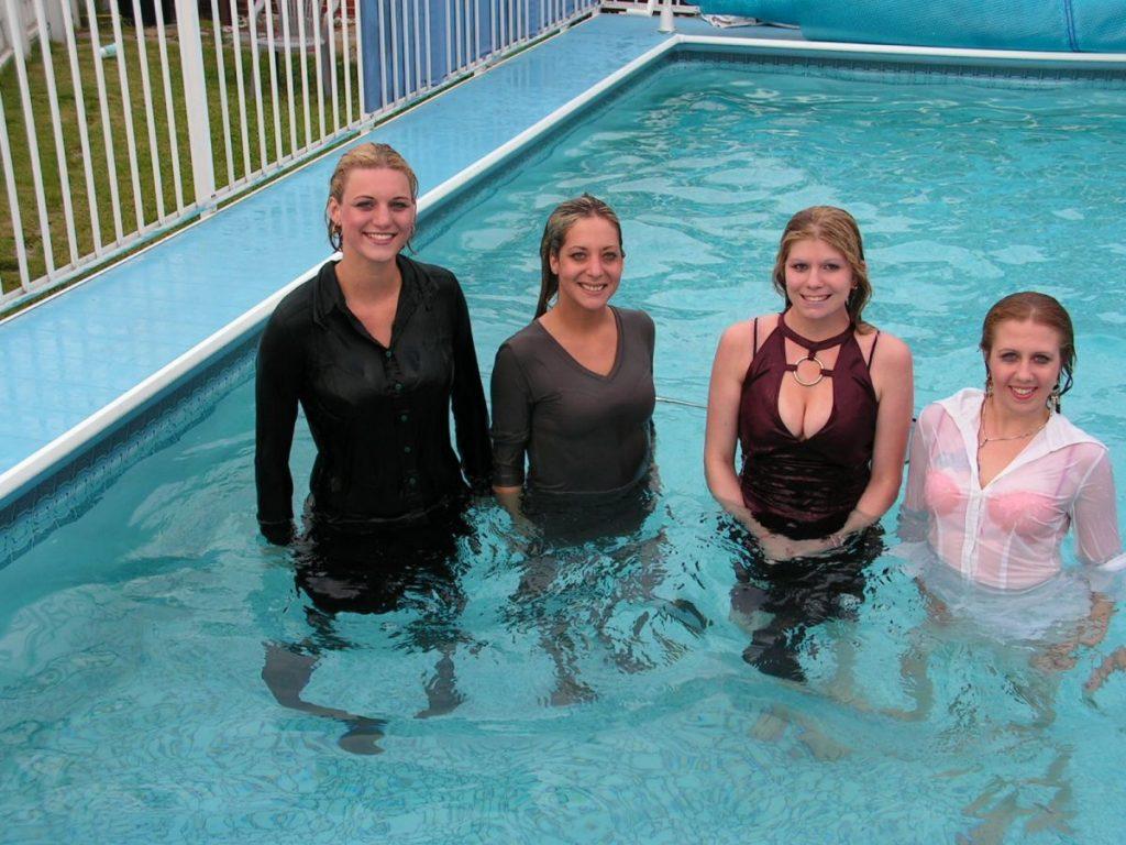¿Qué ropa usar en la piscina?